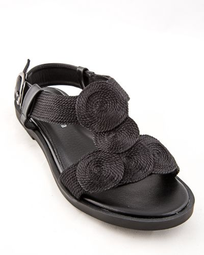 Черные туфли из искусственной кожи Stefaniya Nina