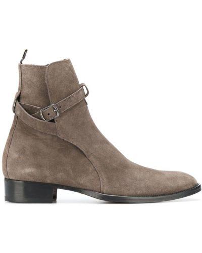 Ботильоны для обуви замшевый Marc Ellis