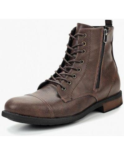 Ботинки осенние кожаные высокие Tamboga