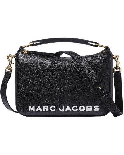 Czarna torba na ramię skórzana Marc Jacobs