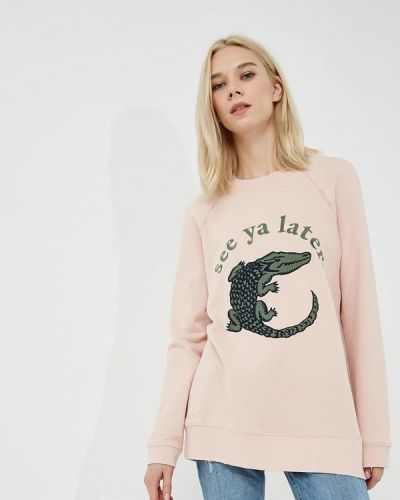Розовая толстовка Zoe Karssen
