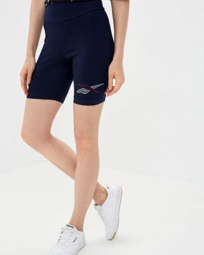 Синие спортивные шорты Reebok Classic