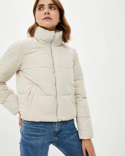 Утепленная куртка - бежевая Jdy