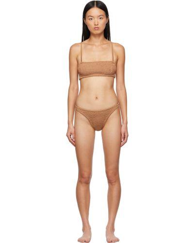 Brązowy bikini Hunza G