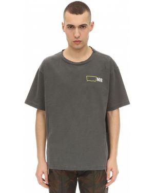 Czarny t-shirt bawełniany Norwood Chapters