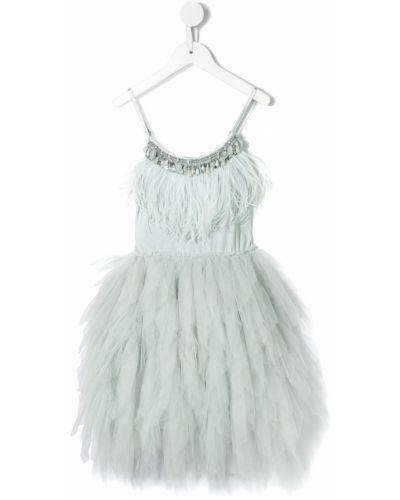Пышное приталенное пышное платье с вырезом круглое Tutu Du Monde