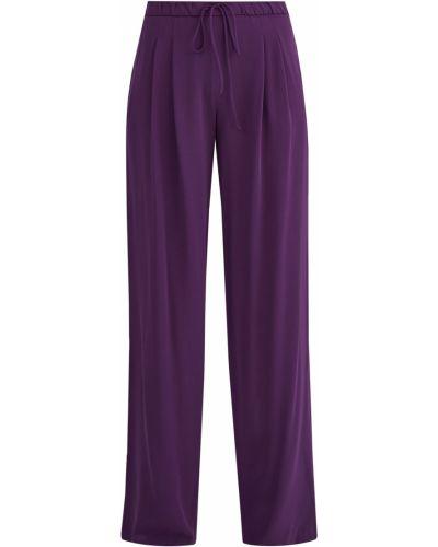 Свободные брюки со складками с поясом Maison Ullens