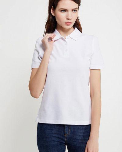 Белое поло Marks & Spencer