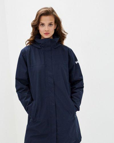 Утепленная синяя куртка Helly Hansen