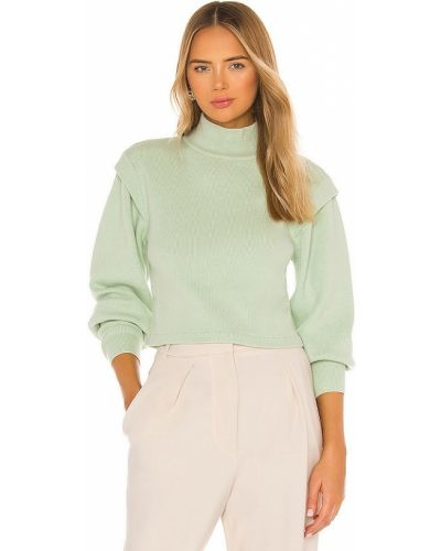 Нейлоновый повседневный синий пуловер Jonathan Simkhai Standard
