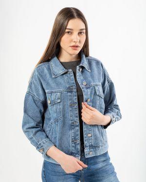 Хлопковая джинсовая куртка - синяя Denim