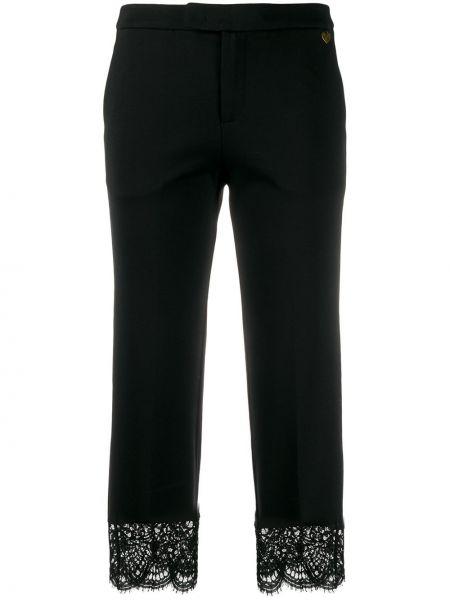 Брюки с карманами - черные Twin-set