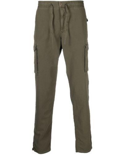 Zielone spodnie Incotex