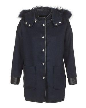 Niebieski płaszcz przeciwdeszczowy Suncoo