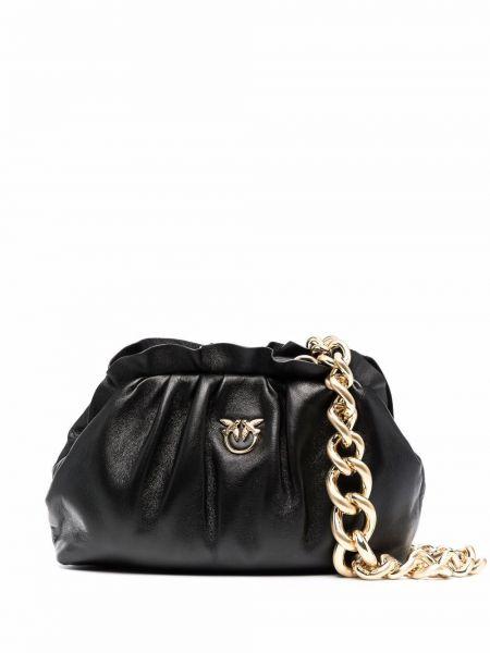 Złoty łańcuszek - czarny Pinko
