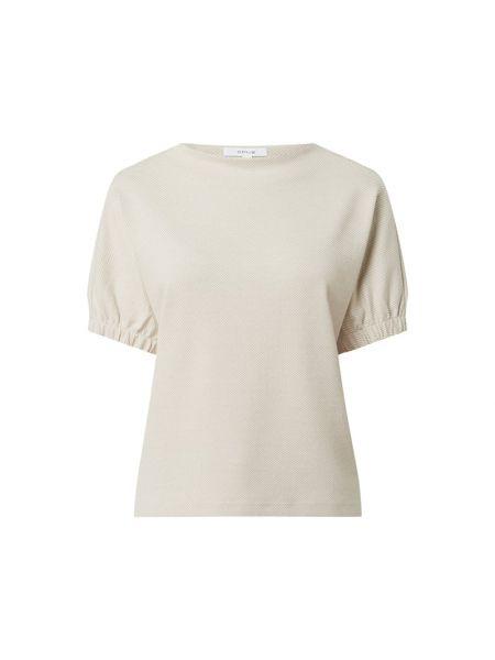 Bluza bawełniana - beżowa Opus