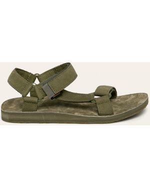 Sandały skórzany zamsz Teva