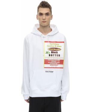 Prążkowana bluza z kapturem bawełniana Botter