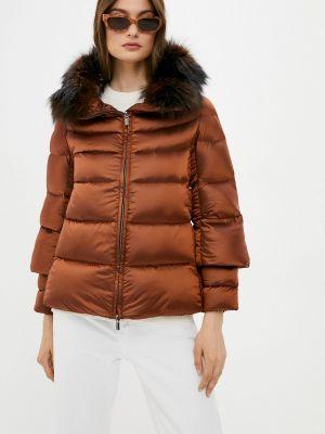 Коричневая куртка Hetrego