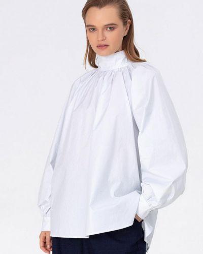 Блузка с длинным рукавом белая весенний Pepen