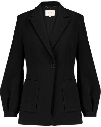 Черный пиджак из вискозы Dorothee Schumacher