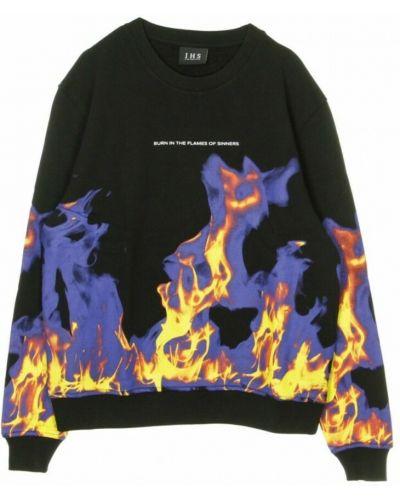 Czarna bluza dresowa Ihs