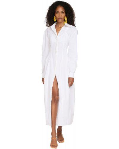 Платье макси длинное - белое Jacquemus