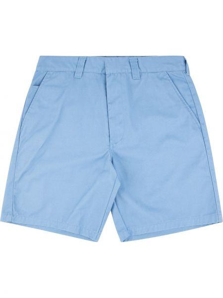 Prosto niebieski bawełna szorty z kieszeniami Supreme