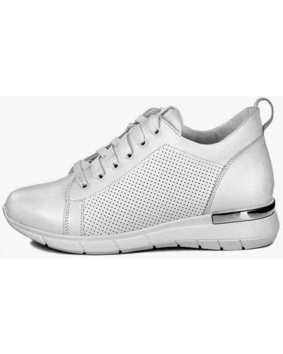 Кожаные белые кроссовки Pandora