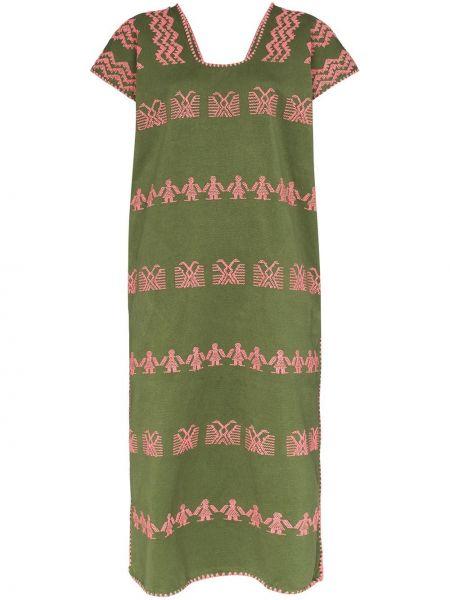 Платье мини миди с вышивкой Pippa Holt