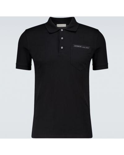 Bawełna bawełna czarny koszula z kieszeniami Givenchy