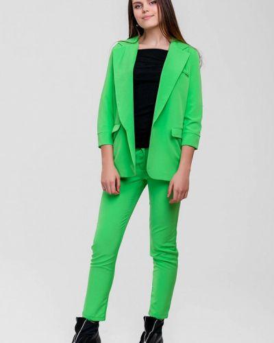Брючный костюм зеленый Sfn