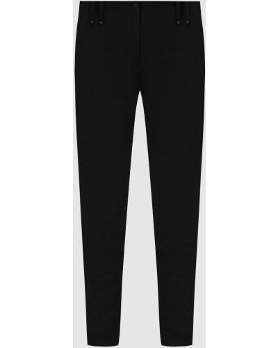 Повседневные черные брюки Plein Sud