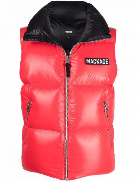 Дутая жилетка - красная Mackage
