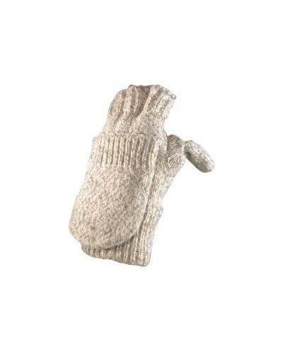 Перчатки шерстяные митенки Foxriver