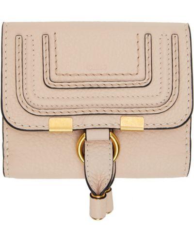 Skórzany czarny portfel skórzany z kieszeniami plac Chloe