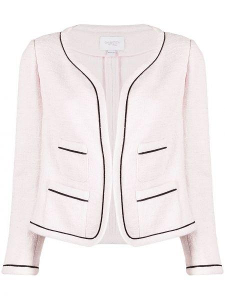 Пиджак твидовый - розовый Giambattista Valli