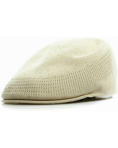 Beżowa czapka beanie Kangol