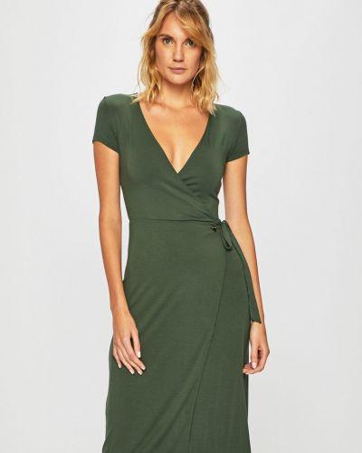 Пляжное платье с запахом на молнии Emporio Armani