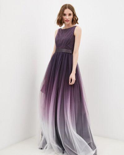 Фиолетовое вечернее платье Seam
