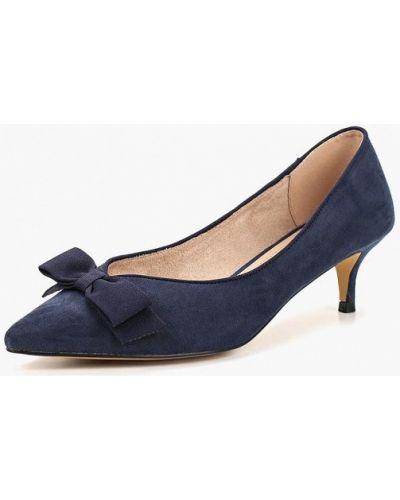 Туфли-лодочки на каблуке замшевые Corina