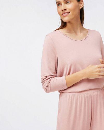 Розовая домашняя футболка Oysho
