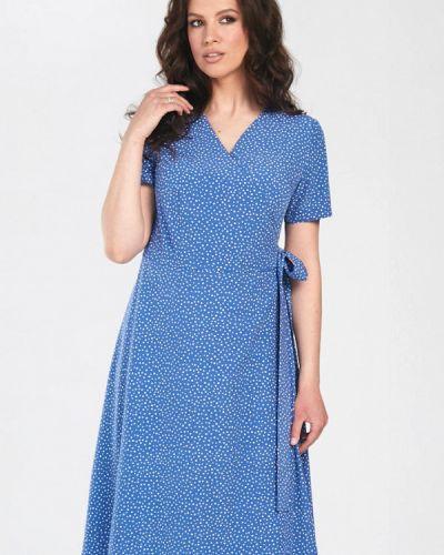 Голубое весеннее платье Prima Linea