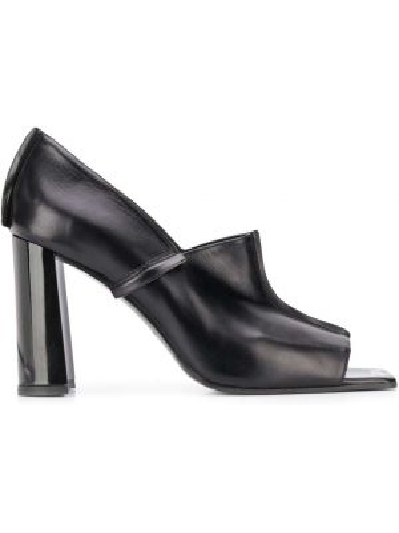 Туфли на каблуке на высоком каблуке с открытым носком Nina Ricci