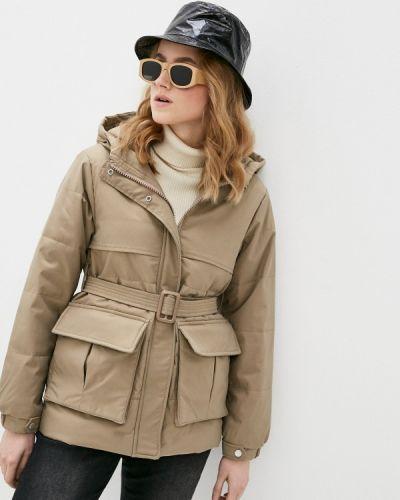 Бежевая утепленная куртка Fadjo
