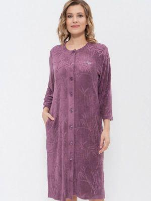 Домашний халат - фиолетовый Cleo