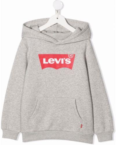 Bluza z nadrukiem z printem Levis Kids