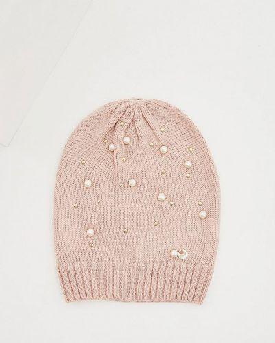 Розовая шапка осенняя Liu Jo