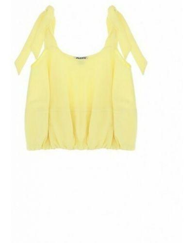 Koszulka - żółta Please