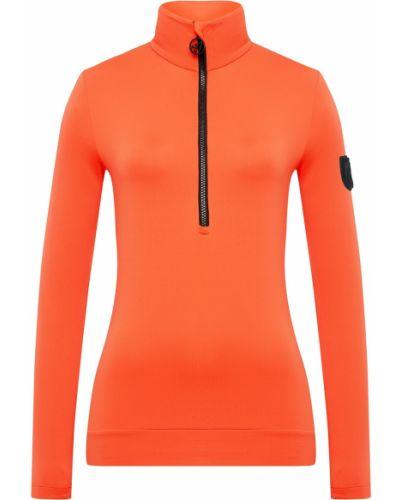 Оранжевая флисовая кофта Toni Sailer